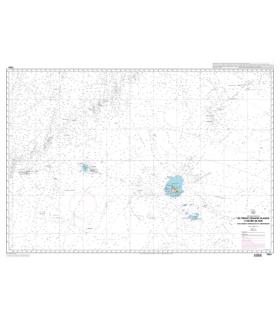 7604 - De Prince Edward Islands à Heard Island - Carte marine Shom papier