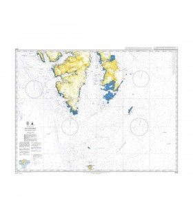 Admiralty 3136 - Svalbard Northern part - carte marine papier