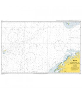Admiralty 4100 - Norway to Jan Mayen - Carte marine papier