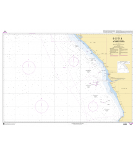 7791 - de Gamba à Luanda - Carte marine Shom papier