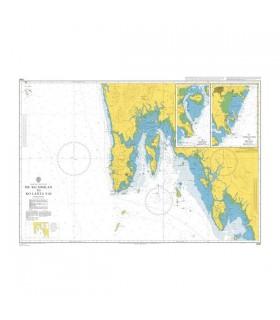Admiralty 3941 Mu Ko Similan to ko Lanta Yai - Carte marine papier