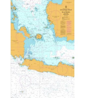 Admiralty 2470 - Singapore Strait to Selat Sunda including Java Sea - carte marine