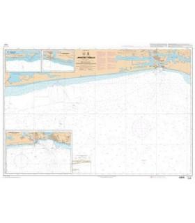 7575 - Approches d'Abidjan - Carte marine Shom papier
