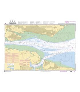 7079 - Cours de la Tamise - Carte marine Shom papier