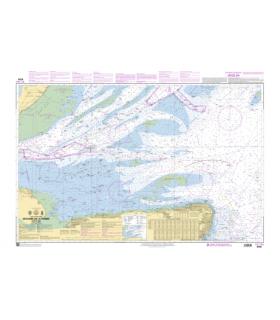 7199 - Cours de la Tamise - Carte marine Shom papier