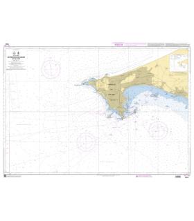 7569 - Approches de Dakar - Baie de Gorée - Carte marine Shom papier
