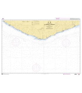 7384 - de Greenville à Sassandra - Carte marine Shom