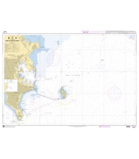 7570 - Rade et port de Dakar - Carte marine Shom