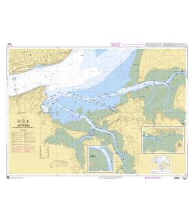 7653 - Port de Lisboa - De Alcantara au canal do Montijo - Carte marine Shom