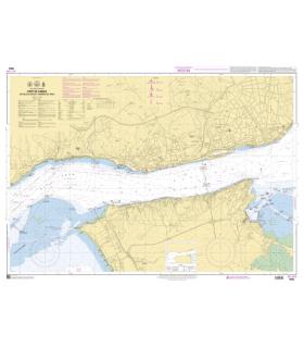 7652 - Port de Lisboa - De Paço de Arços à Terreiro de Trigo - Carte marine Shom