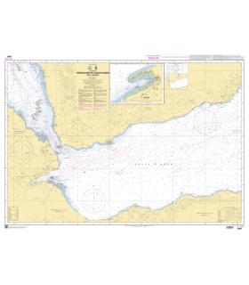 6987 - Partie Ouest Golfe d'AdenBab el Mandeb- Carte marine Shom papier
