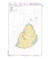7165 - Maurice - Carte marine Shom papier