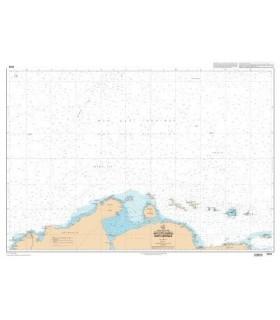 7476 - Mer des caraïbes Partie Centrale - Carte marine Shom