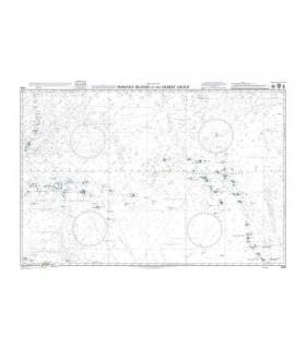 Admiralty 4506 - Mariana islands to the Gilbert Group - Carte marine papier