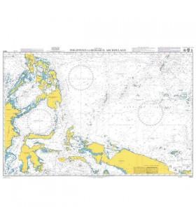 Admiralty 4507 - Philippines to Bismarck Archipelago - Carte marine papier