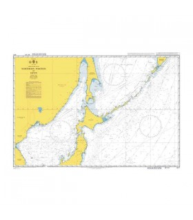 Admiralty 4511 - Northern portion of Japan - Carte marine papier