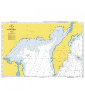 Admiralty 4512 - Sea of Okhotsk - Carte marine papier