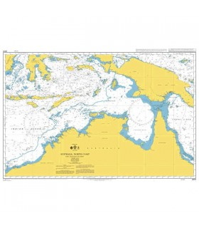 Admiralty 4603 - Australia North Coast - Carte marine papier