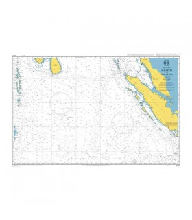 Admiralty 4707 - Maldives to Sumatera - Carte marine papier