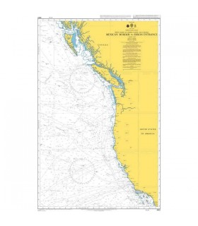 Admiralty 4801 - Mexican Border to Dixon Entrance - Carte marine papier