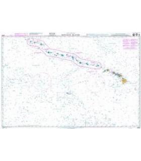 Admiralty 4809 - Hawaiian Islands - Carte marine papier