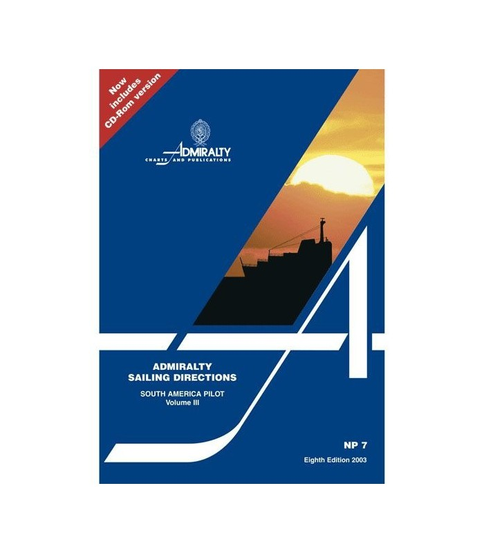 NP7 - South America Pilot Vol.3 - Instructions nautiques Admiralty