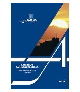NP7A - South America Pilot Vol.4 - Instructions nautiques Admiralty