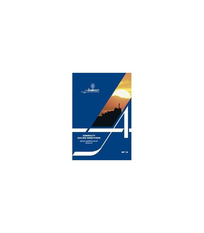 NP7A - South America Pilot Vol.4 - Instructions nautiques Admiralty
