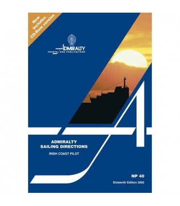 NP40 - Irish Coast Pilot - Instructions nautiques Admiralty