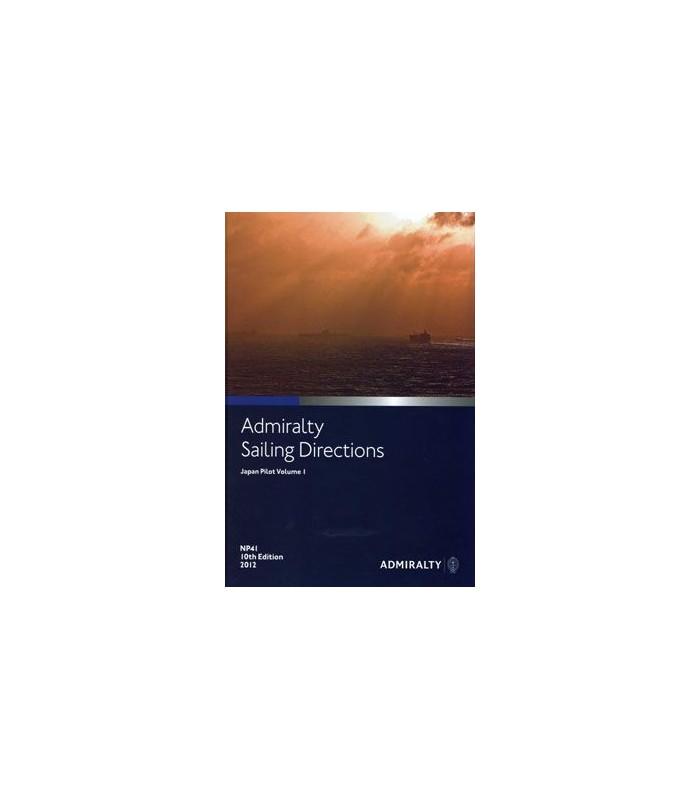 NP41 - Japan Pilot Vol. I - Instructions nautiques Admiralty