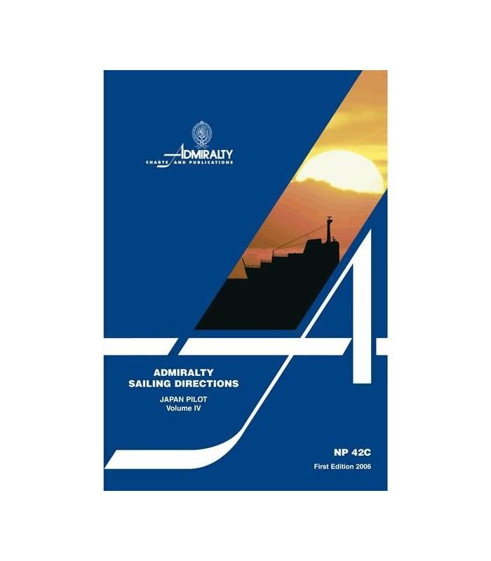 NP42C - Japan Pilot Vol IV - Instructions nautiques Admiralty