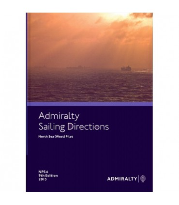NP54 - North Sea (West) Pilot- Instructions nautiques Admiralty
