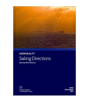 NP56 - Norway Pilot Vol. I - Instructions nautiques Admiralty