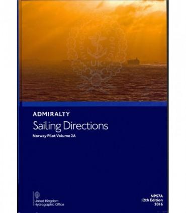 NP57A - Norway Pilot Vol. II - Instructions nautiques Admiralty