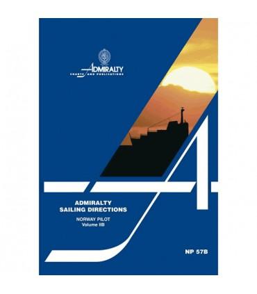 NP57B - Norway Pilot Vol. IIB - Instructions nautiques Admiralty