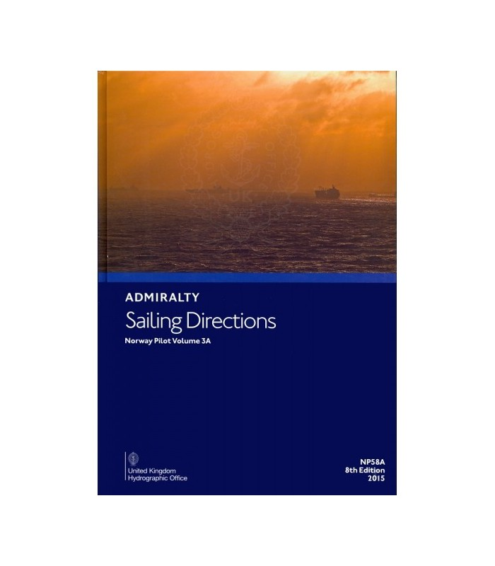 NP58A - Norway Pilot Vol. IIIA - Instructions nautiques Admiralty