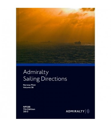 NP58B Norway Pilot Vol. IIIB - Instructions nautiques Admiralty