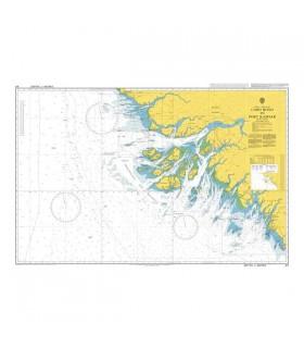 Admiralty 611 - Cabo Roxo to Port Kamsar - Carte marine papier
