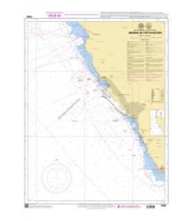 7530 - Abords de Civitavecchia - Carte marine Shom papier