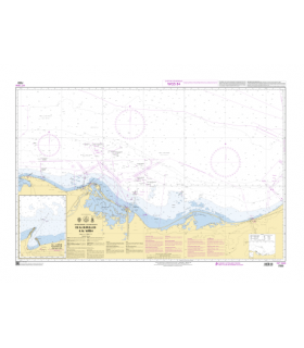 7233 -  De Al Burullus à Al Arish - Carte marine Shom papier