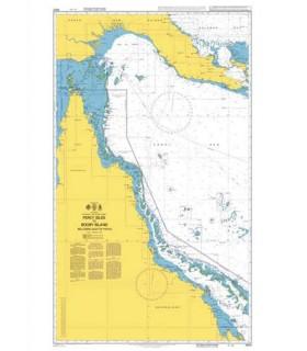 4620 Australia - Papua New Guinea Percy Isles to Booby Island including Gulf of Papua