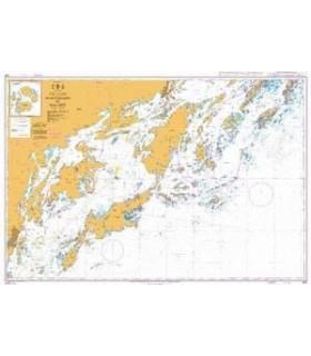 Admiralty 872 - nynashamn to dalaro - carte marine Admiralty