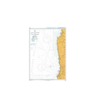 Admiralty 4235 - Bahia Valparaiso to Bahia Coquimbo - Carte marine Admiralty