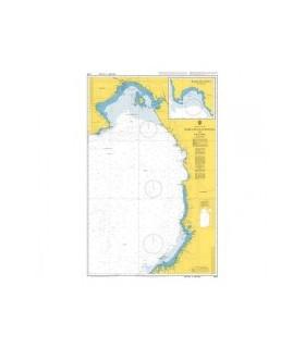 Admiralty 2258 - Bahía Buenaventura to Panama - Carte marine Admiralty