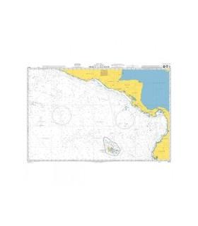 Admiralty 4811 - Mexico to Ecuador - Carte marine papier