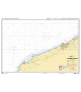 7701 - de Mohammadia à Jorf Lasfar- Carte marine Shom papier