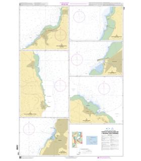 7495 - Ports et mouillages de l'archipel des Comores - carte marine Shom