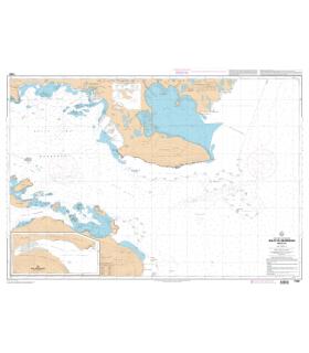 7358 - Iles Kerguelen - Golfe du Morbihan - Partie Est