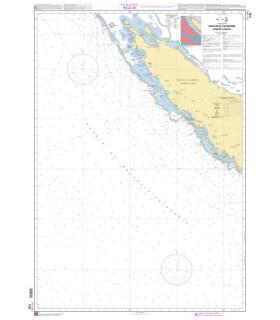 7762 - Nouvelle Calédonie - Partie Ouest - carte marine Shom