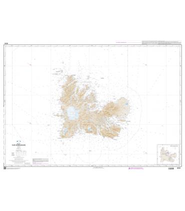 6741 - Iles kerguelen - Carte marine Shom